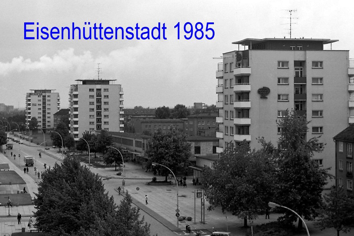 Eisenhüttenstadt 1985