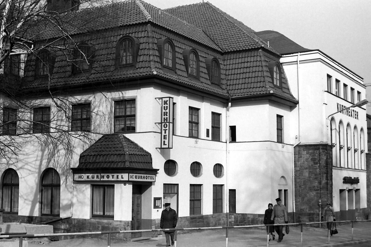 HO Kurhotel Blankenburg 1984
