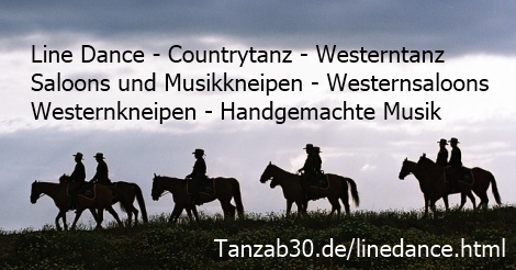 Line Dance - Countrytanz - Westerntanz - Western Saloons