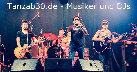 Tanzab30/40/50/60 - Musiker Live-Bands Live-Musik DJs Tanzmusik