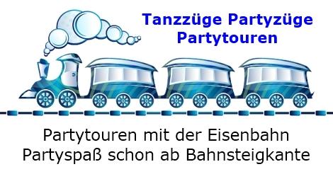 Tanzzüge - Partyzüge - Partytouren - Partys in Deutschland